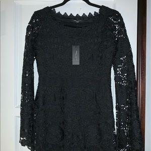 Romeo + Juliet Couture Lace Little Black Dress